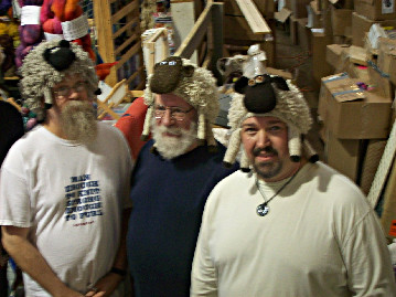 Men in Sheep Hats at SAFF