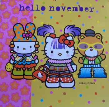 Hello Novemeber 2008
