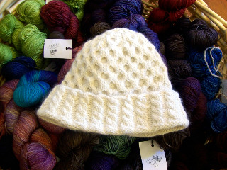 Surrey Hat with Malabrigo Sock 110808