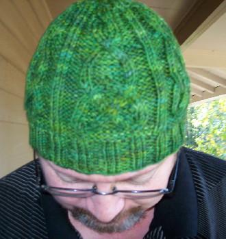 Celtic Cable Hat Patrick