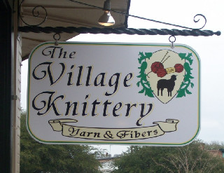 VillageKnitterySign