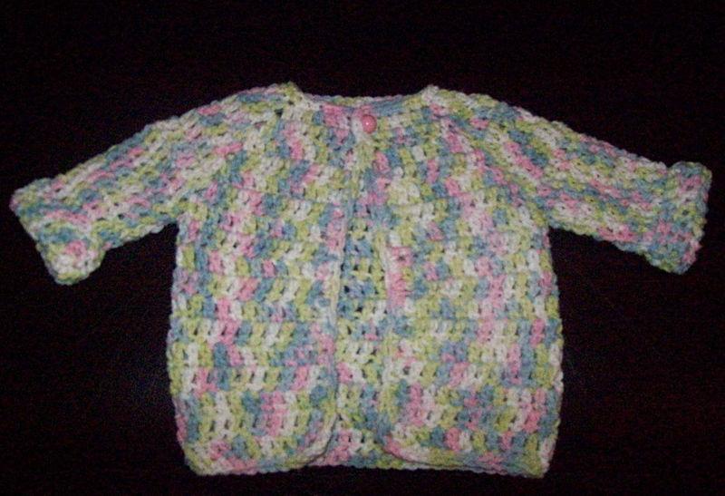 Baby Sweater Fini