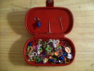 Tool Time Stitch Markers