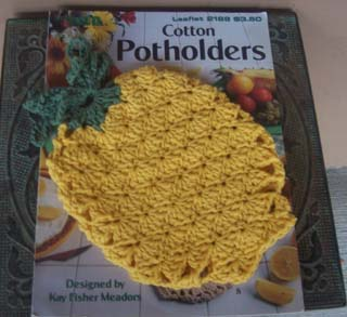Pineapple Potholder 1