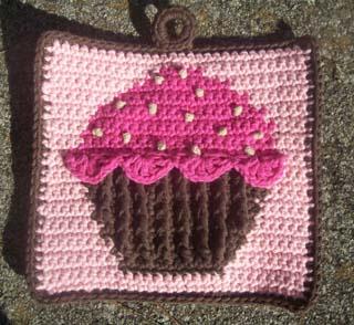 Cupcake Potholder 2