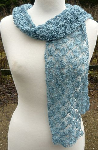 Queenies Angel Crochet Scarf