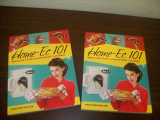 Create South Home Ec 101 Books