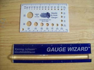 Tool Time Needle Gauge and Ruler