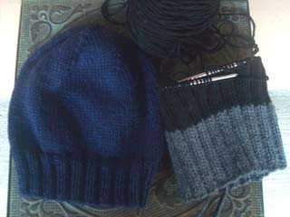 Hats in Progress