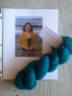 Featherweight Cardi--Pattern and Yarn
