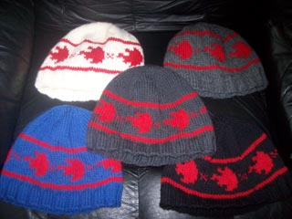 BarCamp Hats 10.21.11