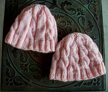 Cable_baby_hats_finished
